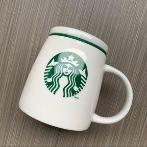 Starbucks Classic Ceramic Mug With Lid & Handle